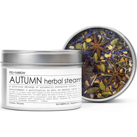 Fig + Yarrow Herbal Steam | Autumn 3oz HSAT