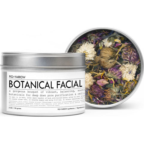 Fig + Yarrow Herbal Steam | Botanical Facial 2oz HSBT