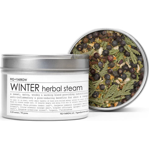 Fig + Yarrow Herbal Steam | Winter 3.25oz HSWT