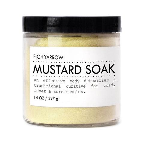 Fig+Yarrow Mustard Soak | 14 oz