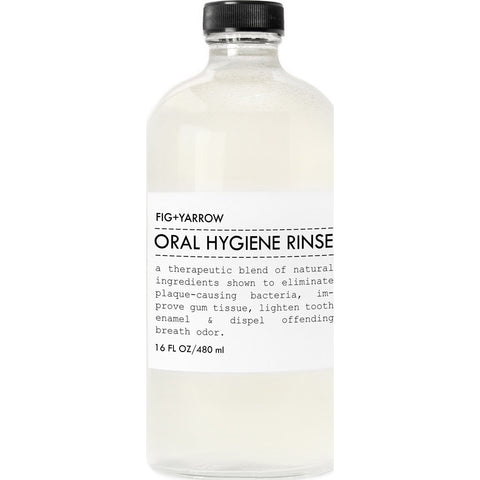 Fig+Yarrow Oral Hygiene Rinse | 16 oz Ohr16