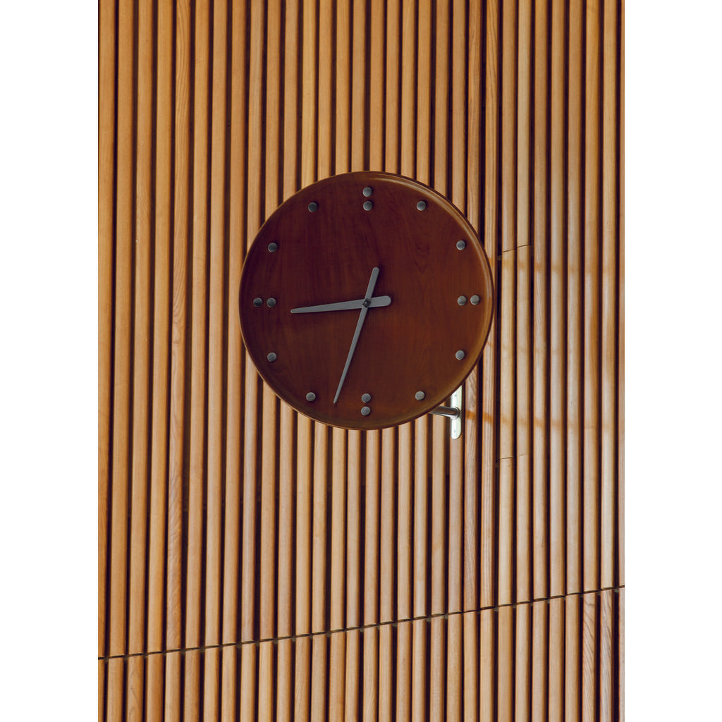 Architectmade FJ Wall Clock | Teakwood 780