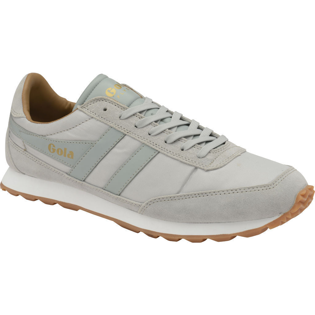 Mens Flyer White/Gum Trainers Gola