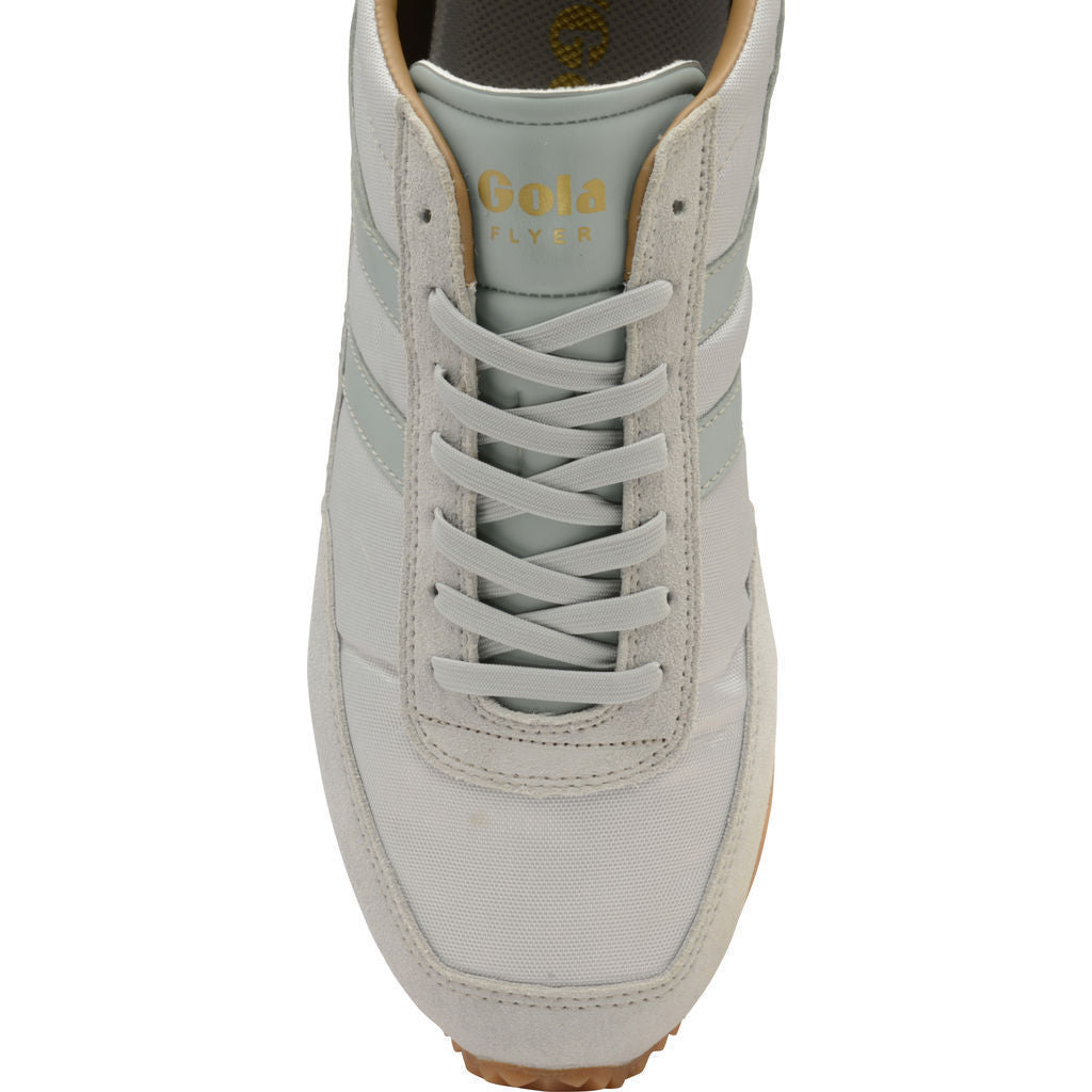 Gola Men's Flyer Sneakers | Light Grey/Gum