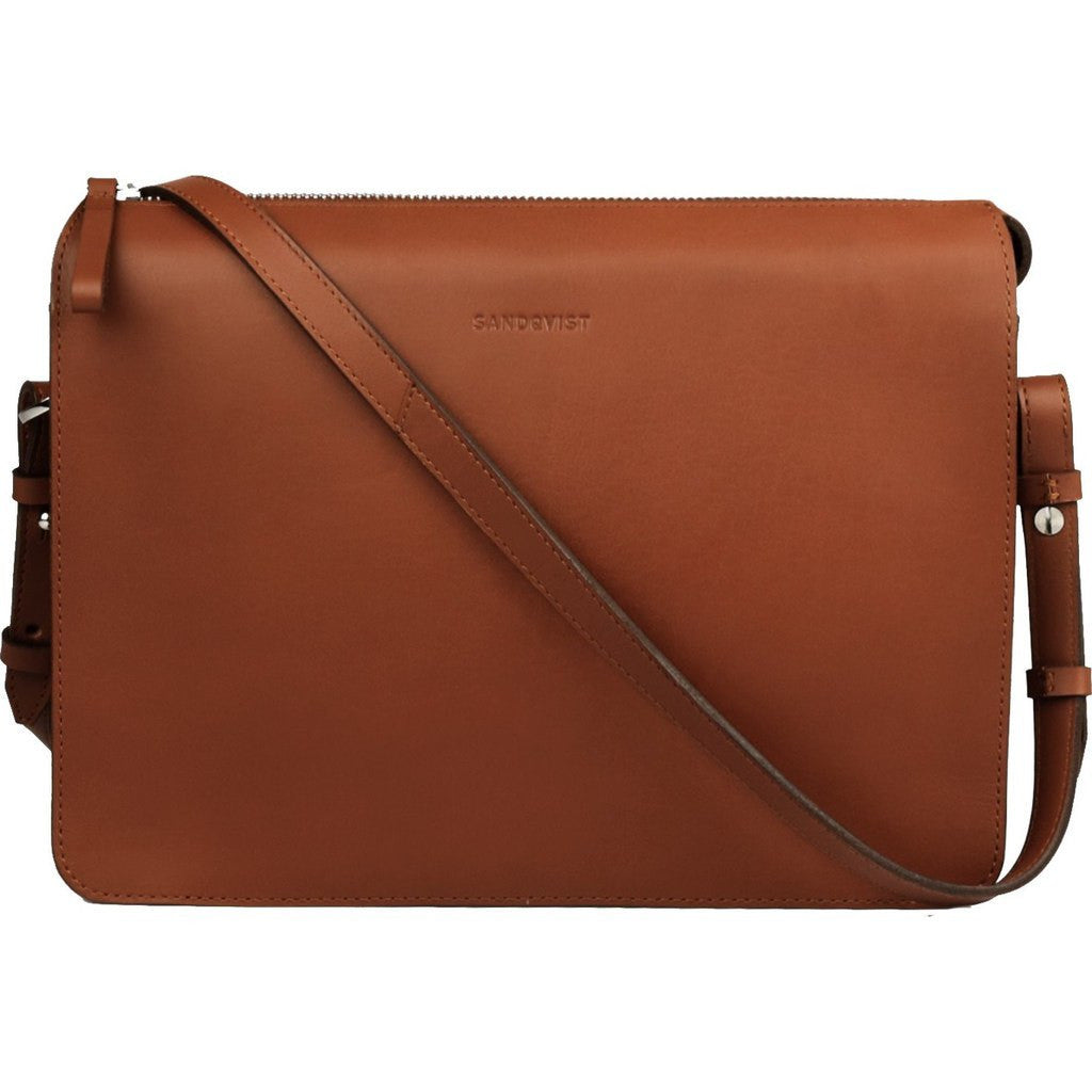 Sandqvist Franka Shoulder Bag | Cognac SQA601