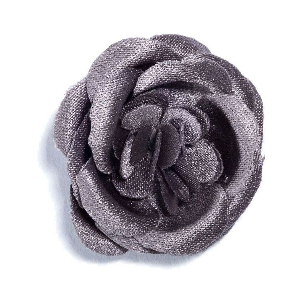 Hook & Albert Smokey Small Lapel Flower | Gray FW14-LBSS-GRY-OS