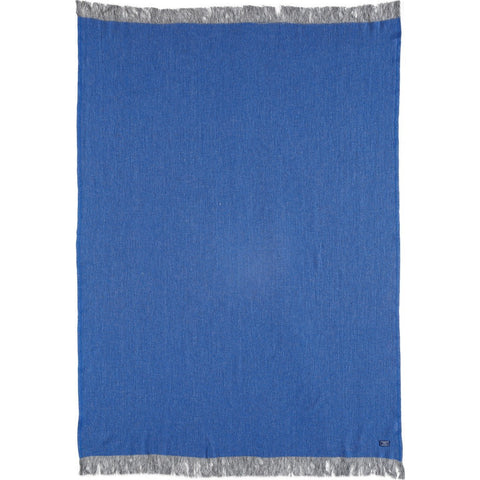 Faribault Ashby Twill Throw | Blue BTATNV1566