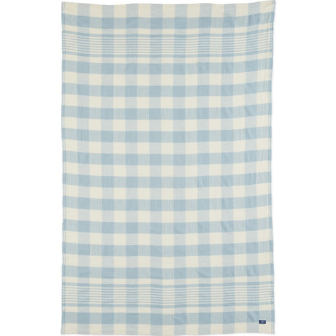 Faribault Faribault Plaid Throw | Seafoam BTFPLB1610