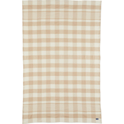 Faribault Faribault Plaid Throw | Beige BTFPBG1597