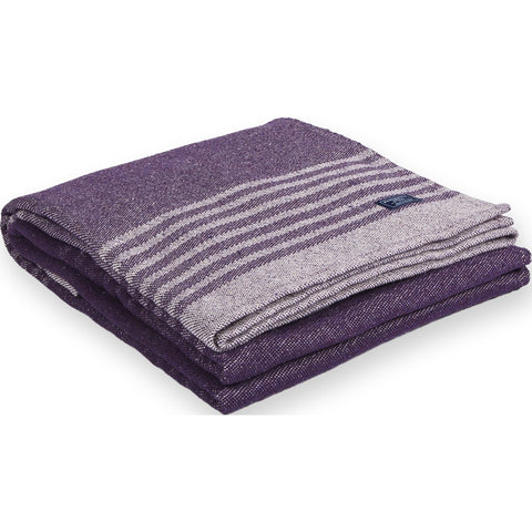 Faribault Eco Cotton Throw | Linear Stripe Purple BTLSPP1044