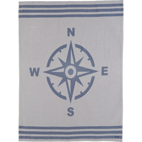 Faribault Cotton Throw | Nautical Compass BTNANA1297