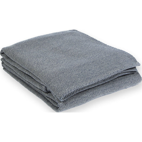 Faribault Pure Cotton Blanket | Navy King B1PCNV1136