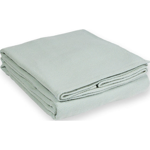Faribault Pure Cotton Blanket | Seafoam King B1PCLB1167