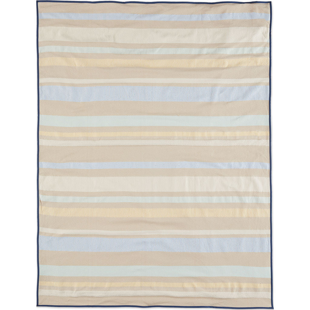 Faribault Kerrick Stripe Travel Blanket | Multi-BOKSMU1679