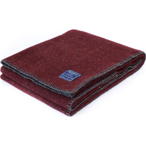 Faribault Wool Utility Blanket | Red