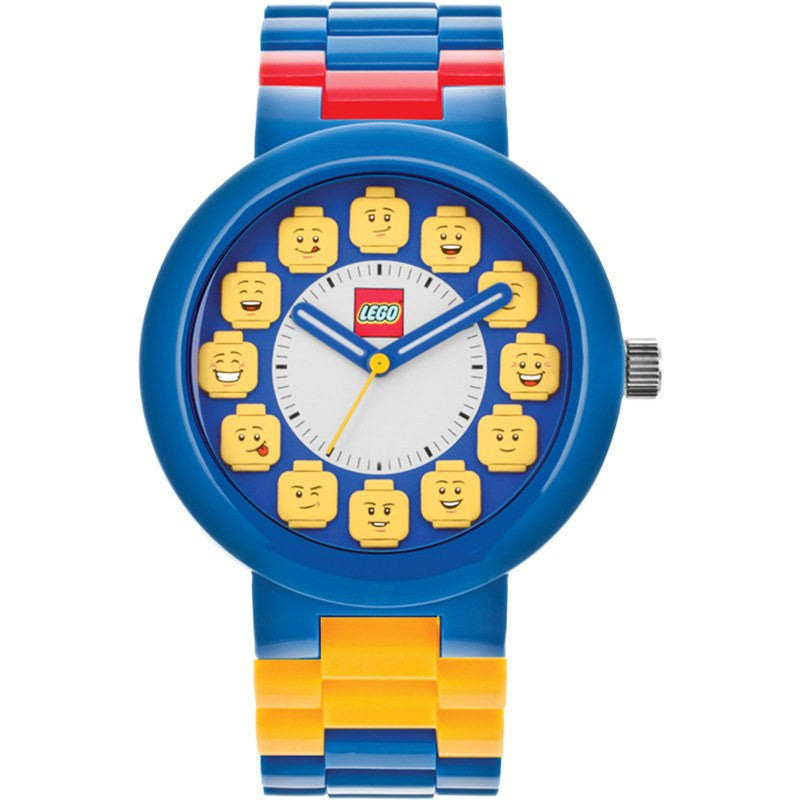 Lego Fan Club Adult Watch | Blue/Yellow