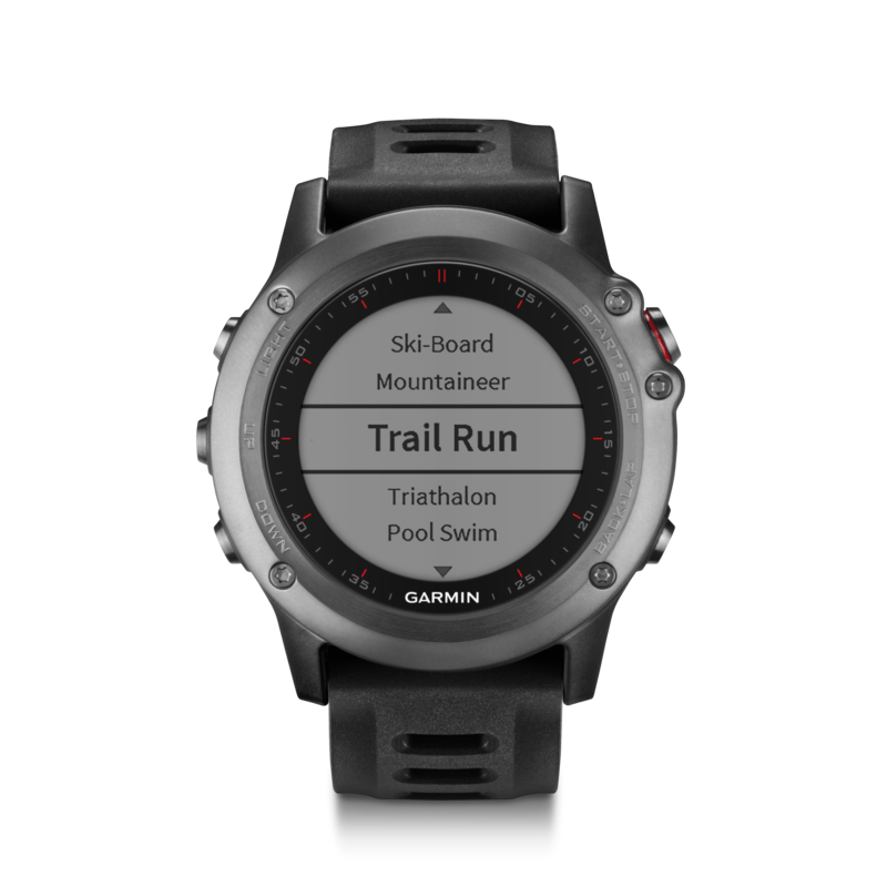 Garmin Fenix 3 Multi-Sport GPS Watch | Gray/Black