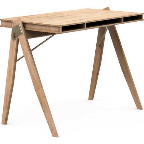 We Do Wood Field Desk | Bamboo