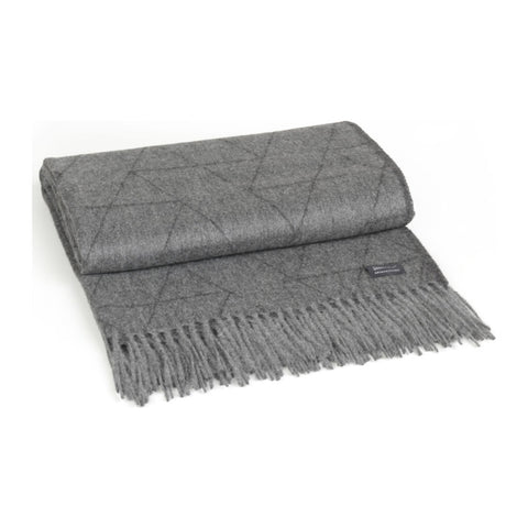 Architectmade FJ Pattern Throw | Grey