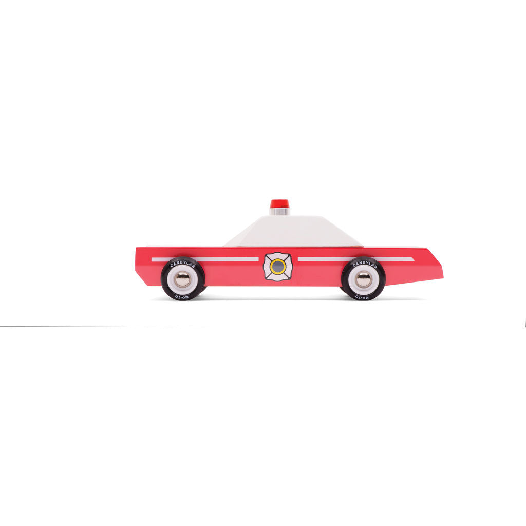 Candylab Firechief Car | Red