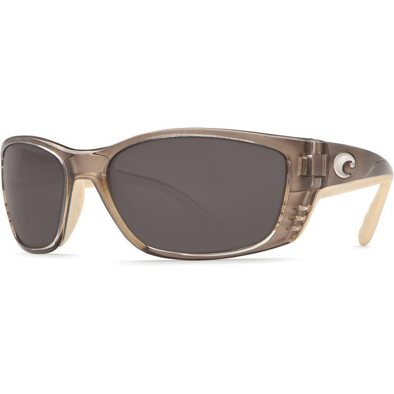 Costa Fisch Crystal Bronze Men's Sunglasses | Gray 580P