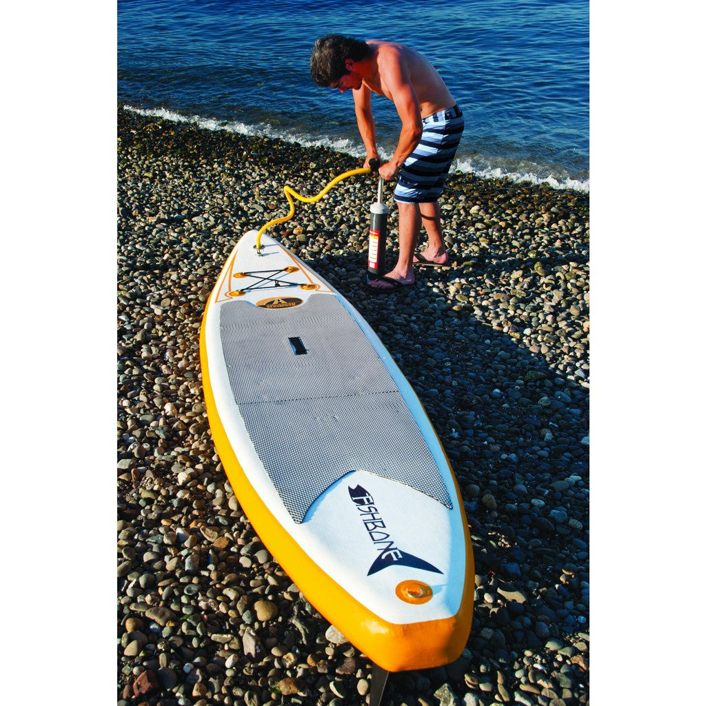 Advanced Elements Fishbone SUP | White/Orange AE1063