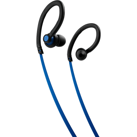 Soul Flex Waterproof Ear Hook Sport Headphones | Electric Blue