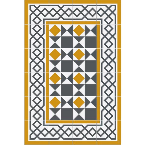 Hidraulik Avinyo Small Mat | Yellow- CC1600