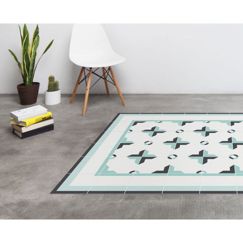 Hidraulik Canuda Medium Rug | Mint Green- CM1521