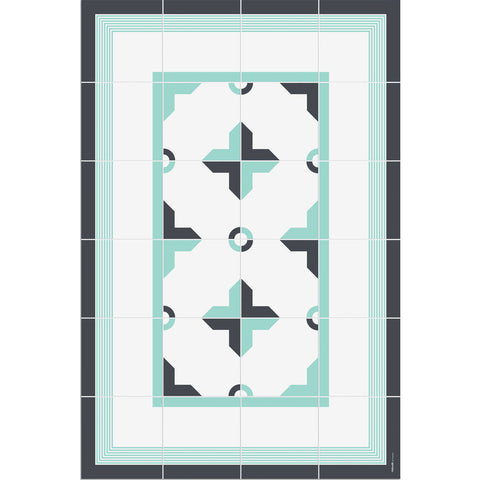 Hidraulik Canuda Small Mat | Mint Green- CM1520