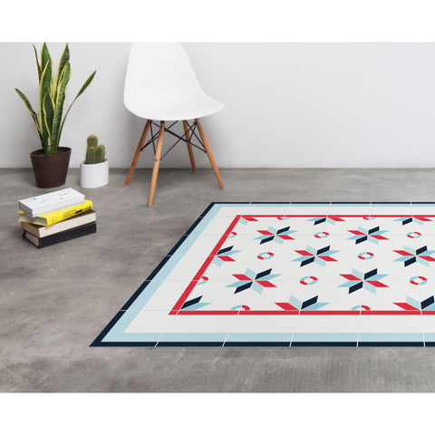 Hidraulik Gloria Medium Rug | Blue- CM1551