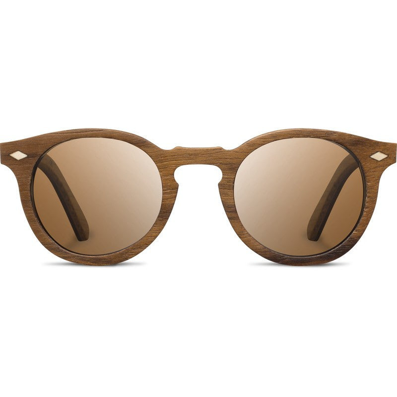 Shwood Florence Select Sunglasses | Teak & Oak / Brown Polarized