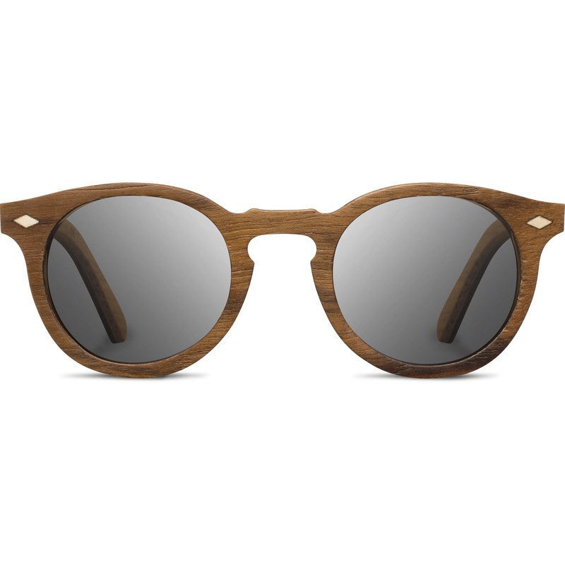 Shwood Florence Select Sunglasses | Teak & Oak / Grey Polarized