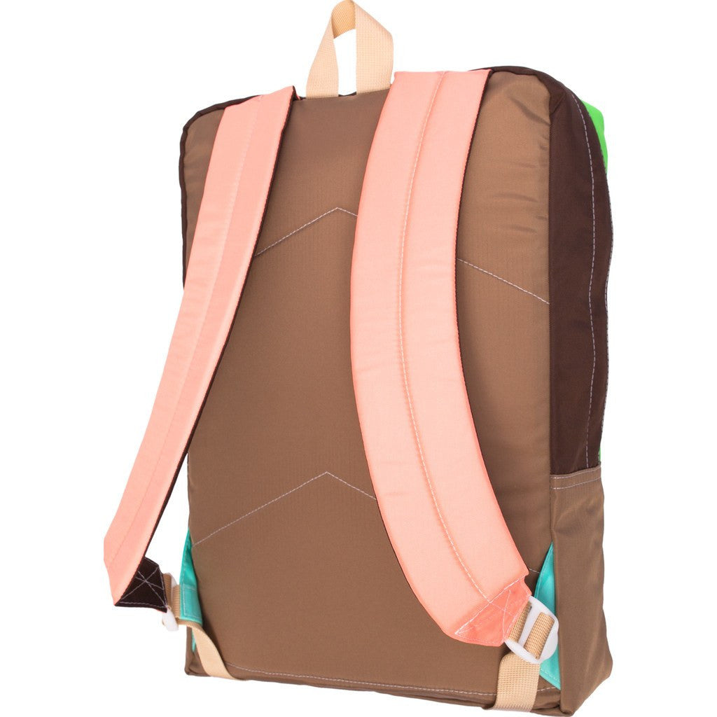 Mokuyobi Flyer Pack Backpack | Coral/Coffee