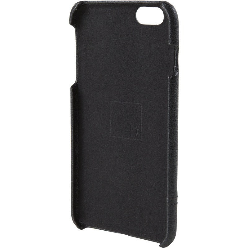 Hex Focus Case for iPhone 6 Plus | Black Pebbled Leather