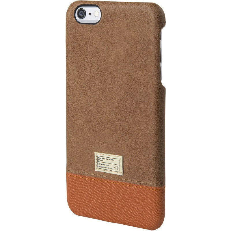Hex Focus Case for iPhone 6 Plus | Brown Leather