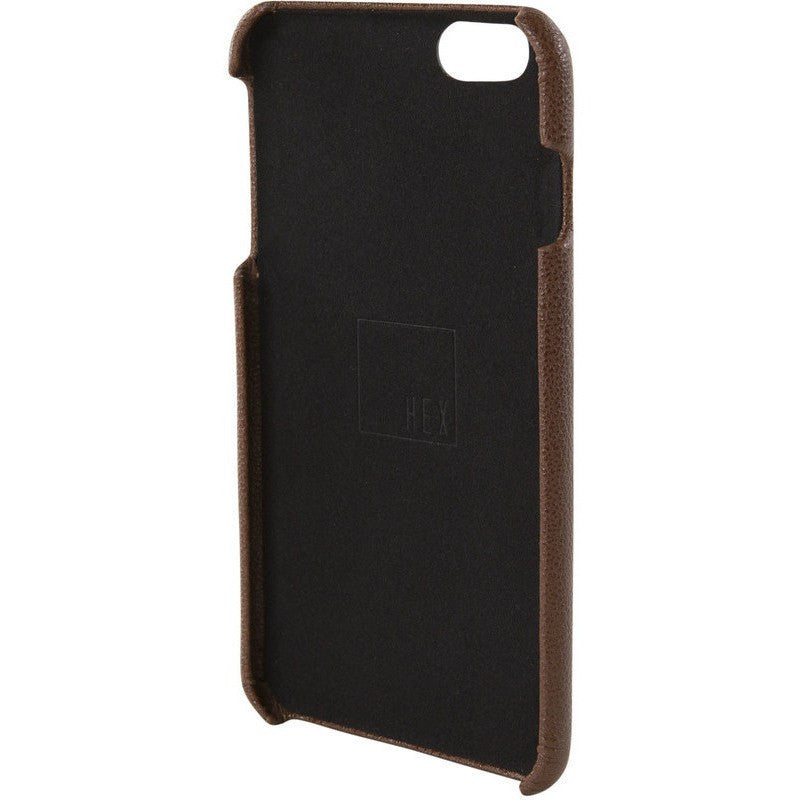 Hex Focus Case for iPhone 6+ | Dark Brown Leather