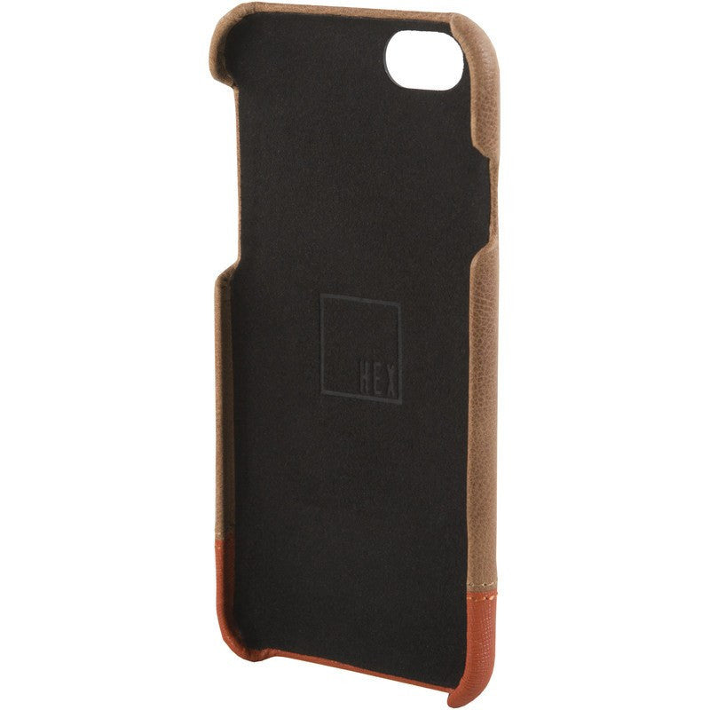 Hex Focus Case for iPhone 6 Distressed Brown Leather | HX1752 BRWN