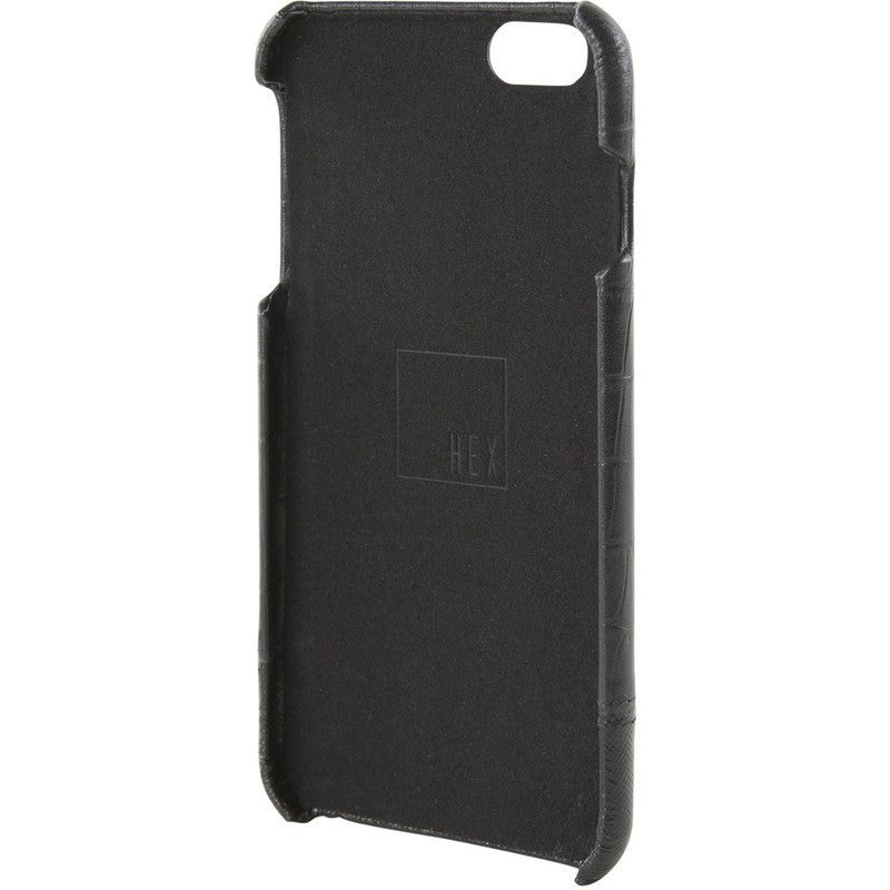 Hex Focus Case for iPhone 6+ | Black Croc