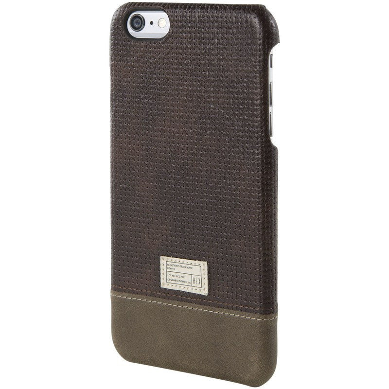 Hex Focus Case for iPhone 6+ | Brown Woven