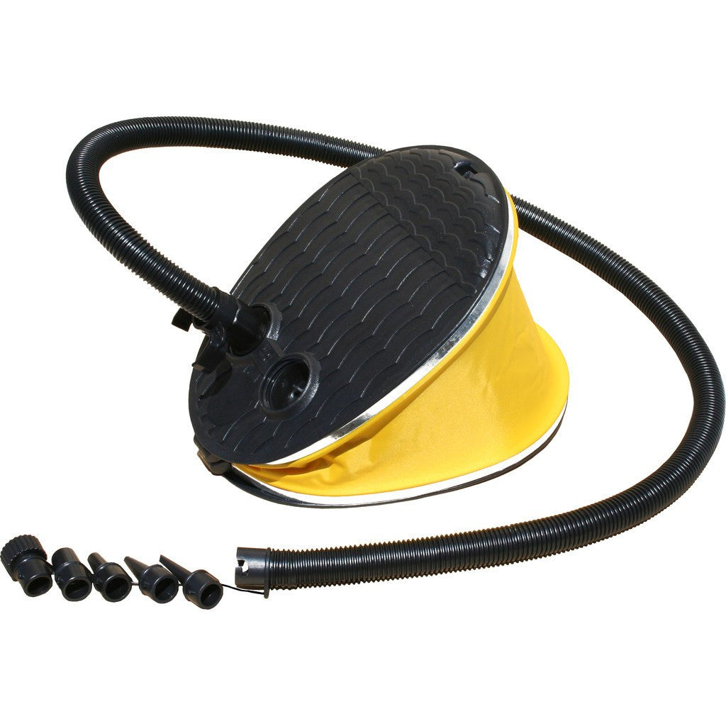 Advanced Elements Bellows Foot Pump Large | Yellow/Black AE2001