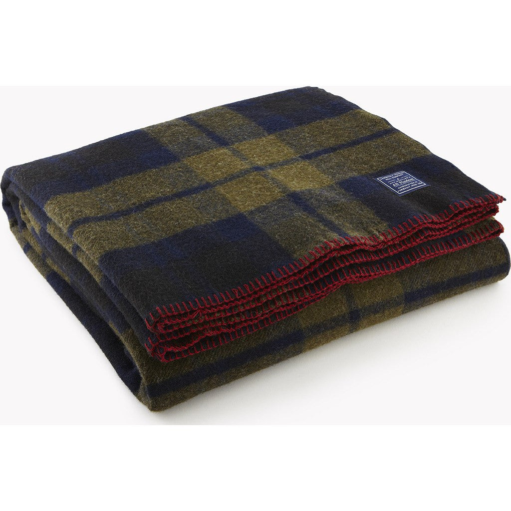 Faribault Foot Soldier Wool Blanket | Shadow Plaid 12028 Twin 66x90