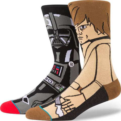 Stance Force Men's Socks | Black L