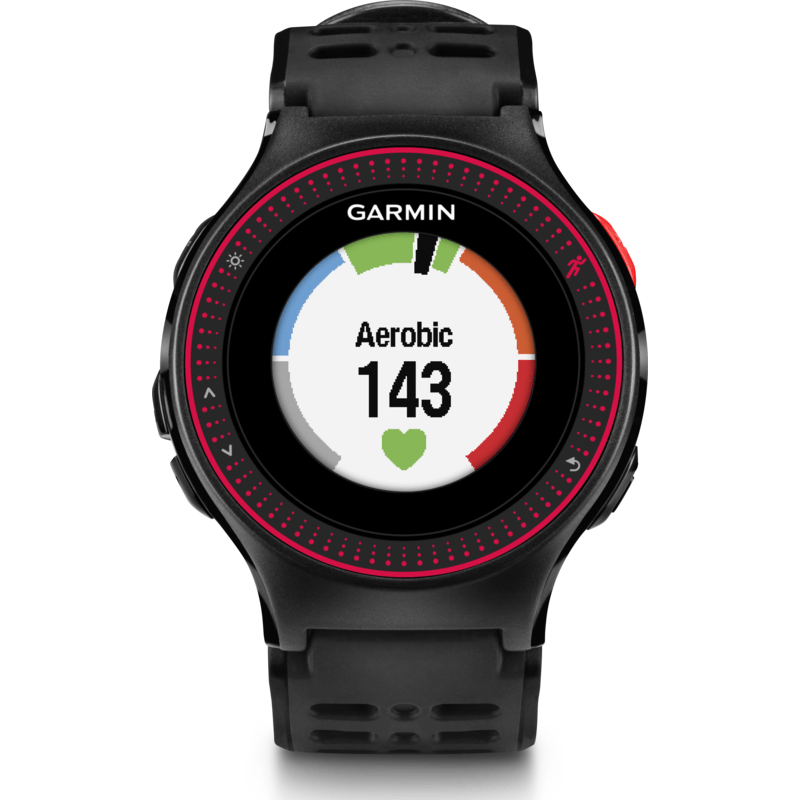 Garmin Forerunner 225 GPS Running HR Watch | Black/Red