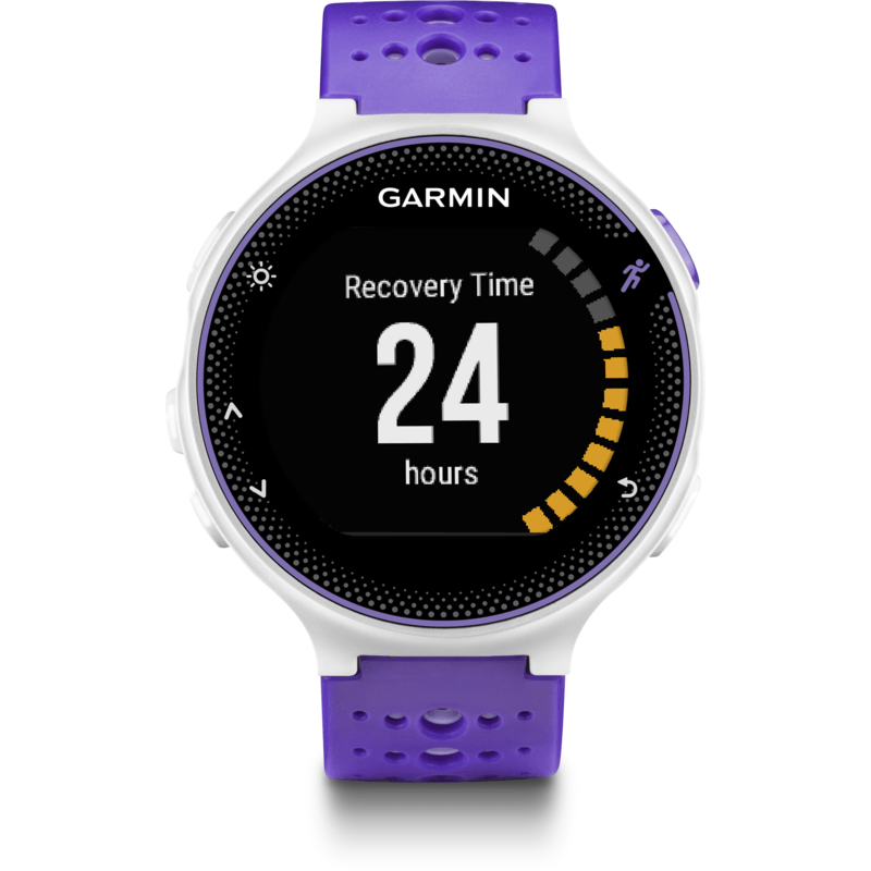 Garmin Forerunner 230 GPS Watch HRM Bundle | Purple Strike