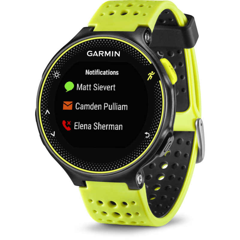 Garmin Forerunner 230 GPS Watch HRM Bundle | Force Yellow