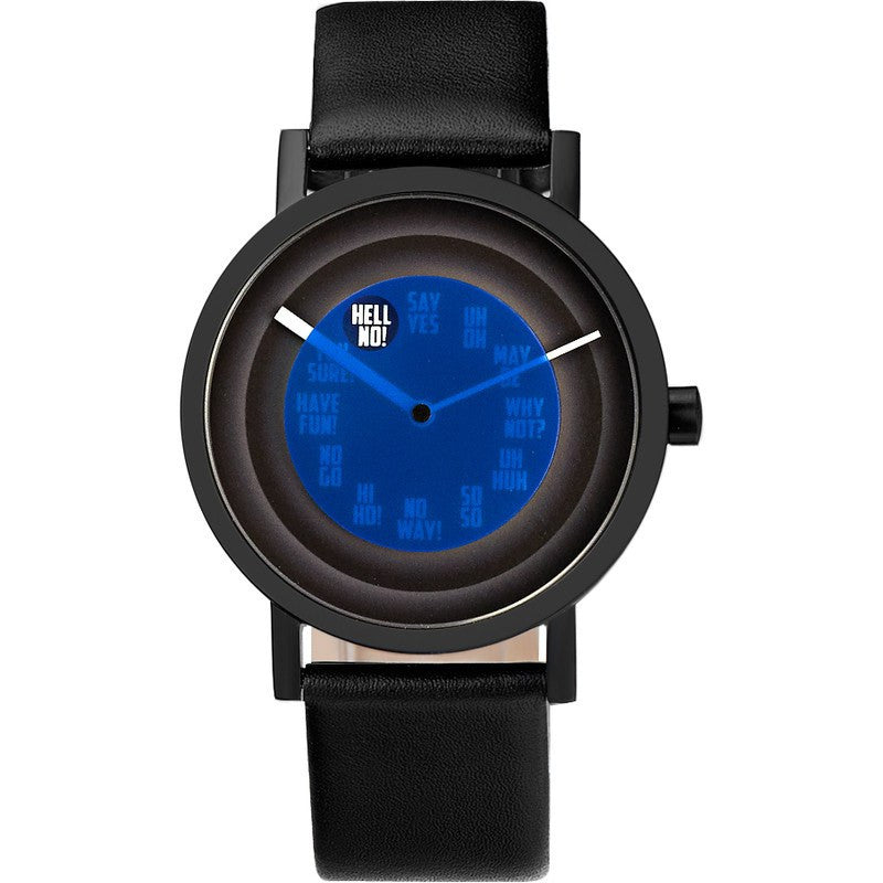 Projects Watches Daniel Will-Harris Foretell Watch | Black