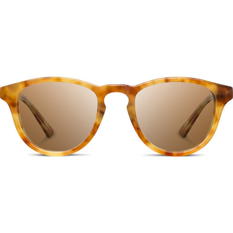 Shwood Francis Acetate Sunglasses | Amber & Elm / Brown Polarized WAFAELBP