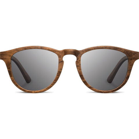 Shwood Francis Wood Sunglasses | Walnut - Grey Polarized WOFWGP