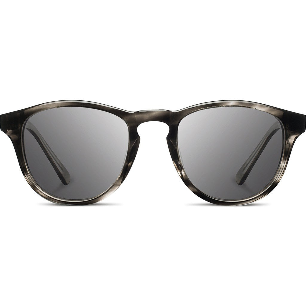 Shwood Francis Acetate Sunglasses | Pearl Grey & Ebony / Grey WAFPGEBG